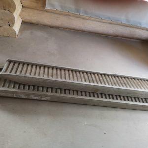 Aliumininiai užvažiavimai 3,5 m. ilgio 4 t.