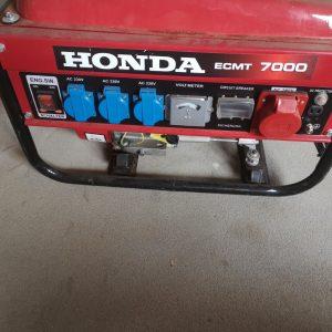 Honda elektros generatorius 5 kw