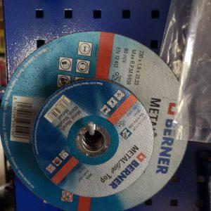 Pjovimo diskas Berner 125x1x22.23