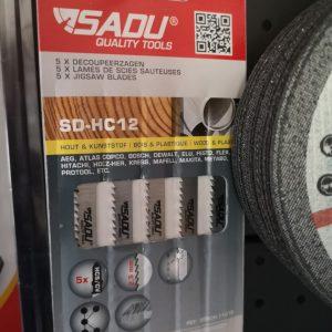 Pjūklas SD-HC 12 75 mm. medienai/plastikui