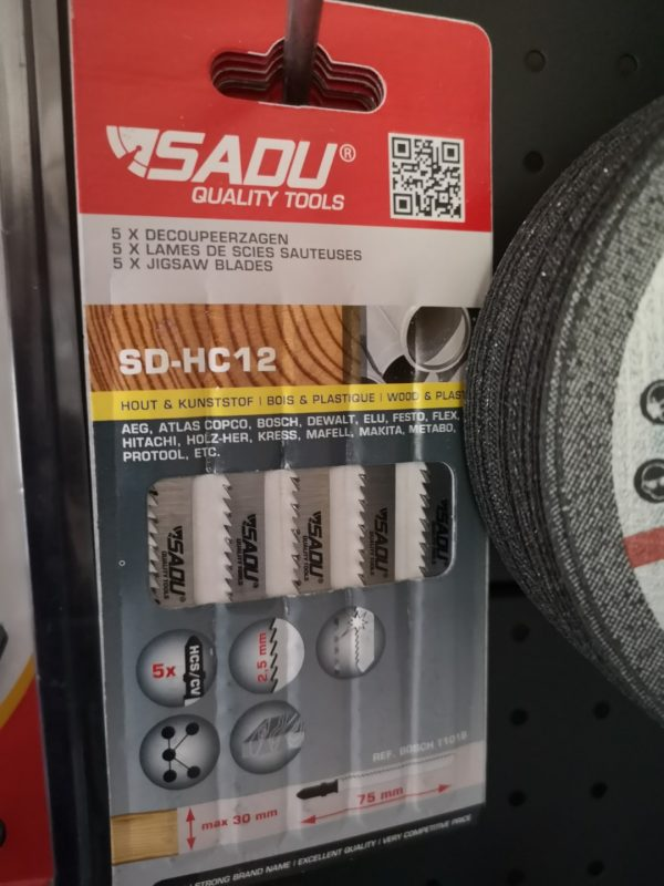 Pjūklas SD-HC 14 75 mm. medienai/plastikui